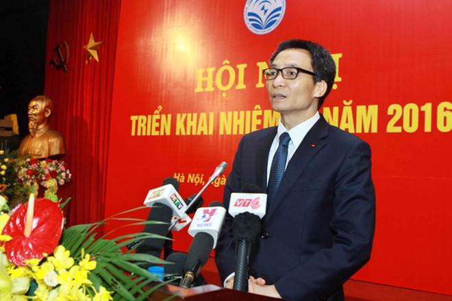 Đảng bộ Bộ TT&TT triển khai nhiệm vụ năm 2016