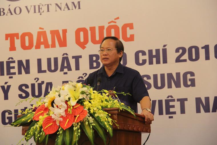 Bộ trưởng Trương Minh Tuấn phát biểu tại Hội nghị