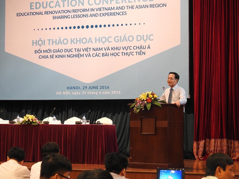 HỘI THẢO KHOA HỌC: Đổi mới giáo dục tại Việt Nam và khu vực châu Á  - Chia sẻ kinh nghiệm và các bài học thực tiễn