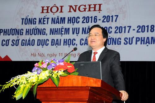 Bộ trưởng Phùng Xuân Nhạ giải đáp một số vấn đề dư luận quan tâm thời gian qua và giao nhiệm vụ cho giáo dục đại học trong năm học tới