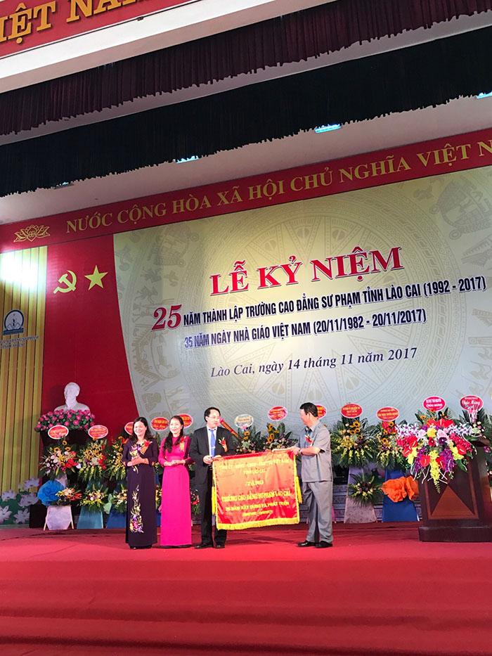 Trường Cao đẳng Sư phạm Lào Cai: 25 năm phát triển và trưởng thành (1992-2017)