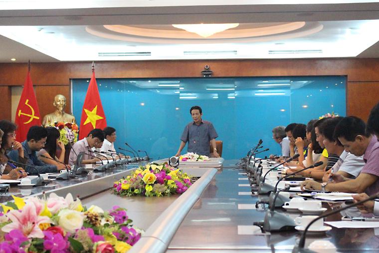 Thứ trưởng Hoàng Vĩnh Bảo phát biểu kết luận chỉ đạo hội nghị