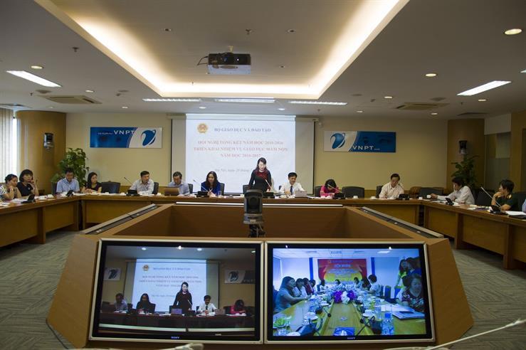 Thứ trưởng Nguyễn Thị Nghĩa phát biểu tại Hội nghị trực tuyến