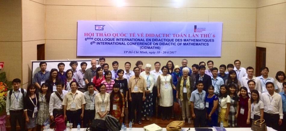 Ảnh lưu niệm: Hội thảo Didactic Toán lần thứ 6, TP Hồ Chí Minh