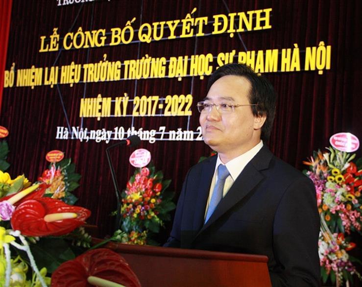 Bộ trưởng Phùng Xuân Nhạ chỉ ra những cơ hội và thách thức của các trường sư phạm hiện nay