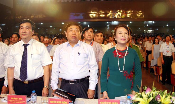 Thứ trưởng Nguyễn Thị Nghĩa dự Lễ bế mạc Hội khỏe Phù đổng toàn quốc lần thứ IX
