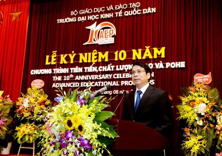 Thứ trưởng Phạm Mạnh Hùng phát biểu tại Lễ kỷ niệm