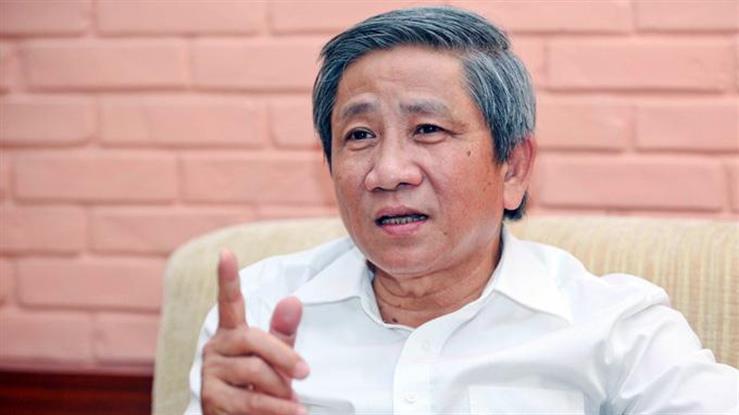 GS.TS Nguyễn Minh Thuyết nguyên Phó Chủ nhiệm Ủy ban Văn hóa, Giáo dục, Thanh niên, Thiếu niên và Nhi đồng của Quốc hội