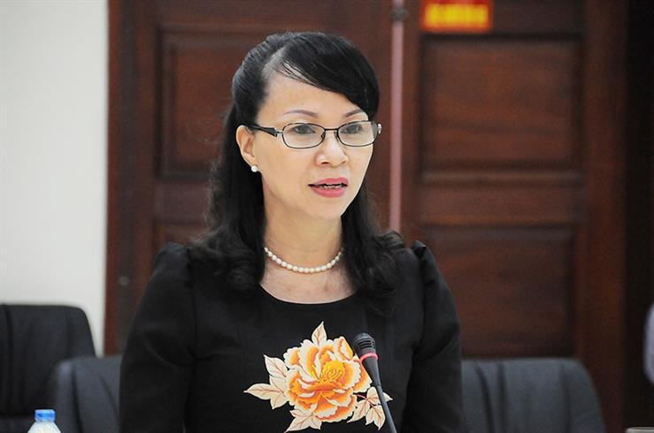 Bà Nguyễn Thị Kim Phụng, Vụ trưởng Vụ Giáo dục Đại học, Bộ GD&ĐT